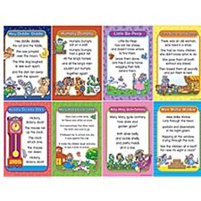 Nursery Rhymes Bulletin Board Cut Out Set 1