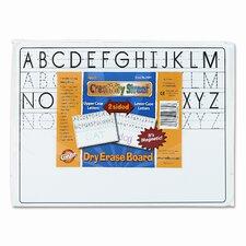 Chenille Kraft Magnetic Dry Erase Board Reversible Lap Board Whiteboard, 1' H x 1' W (Set of 10)