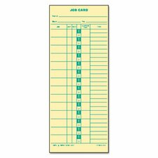 Time Card for Cincinnati, Lathem, Simplex, Job Card, 1-Sided, 500/Box