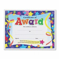 Certificates of Award (Set of 2)