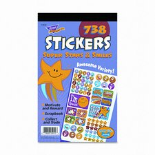 Super Stars and Smiles Sticker (Set of 2)