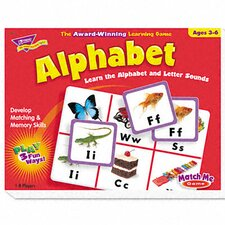 Alphabet Match Me Puzzle