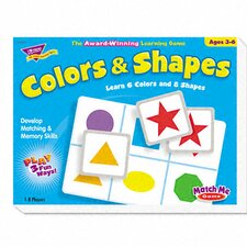 Colors and Shapes Match Me Puzzle