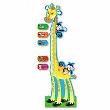 Giraffe Growth Chart Bulletin Board Set