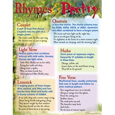 Rhymes and Poetry Chart (Set of 3)