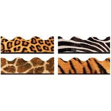 Animal Prints Contains Classroom Border