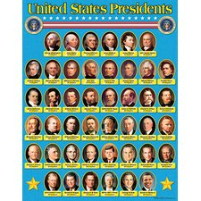United States Presidents Learning Chart (Set of 3)