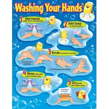 Washing Your Hands Chart (Set of 3)