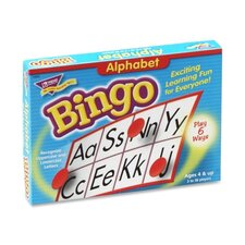 Alphabet Bingo, For Ages 4 And Up
