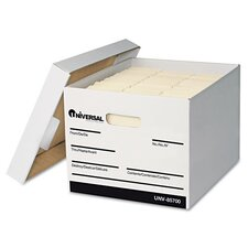 Extra-Strength Storage Box with Lid, 12/Carton