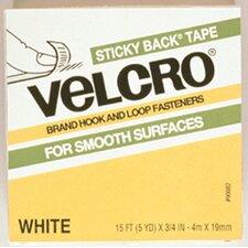 Velcro Tape 3/4 X 18 Strips White (Set of 3)
