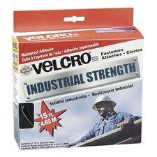"Industrial Strength Hook & Loop Fastener Tape Roll, 2"" x 4 ft. Roll, White"