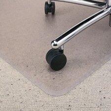 All PileMat High Pile Carpet Beveled Edge Chair Mat