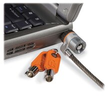 Microsaver Keyed Ultra Laptop Lock, 6 Ft. Steel Cable, Two Keys