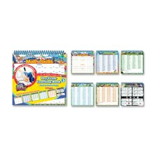 Math Learning Book, Math, 6 Page, Assorted