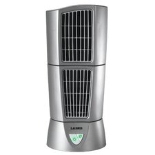 "Lasko Platinum Desktop Wind Tower 6"" Oscillating Tower Fan"