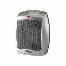 Ceramic 1,500 Watt Portable Compact Heater with Adjustable Thermostat