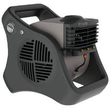 """Misto 16.25"""" Outdoor Misting Oscillating Floor Fan"""