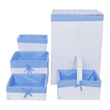 5 Piece Hamper and Basket Set