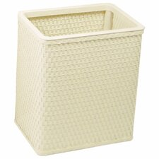 Chelsea Decorator Square Wicker Wastebasket