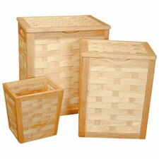 Honey Maple  Complete Nested Set of 3
