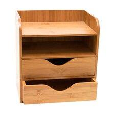 Bamboo 4 Tier Desk Organizer