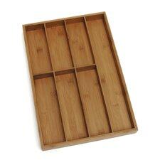 Bamboo Flatware Organizer