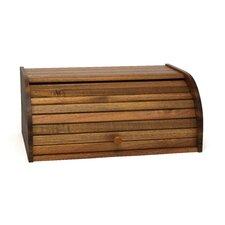 Acacia Roll-Top Bread Box
