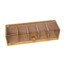 Bamboo and Acrylic Tea Box