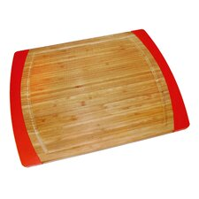 Bamboo & Silicone Non-Slip Cutting Board