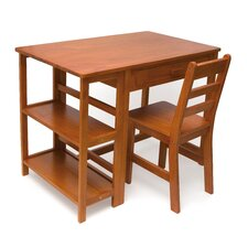 "Kid's 36"" W Writing Desk & Chair Set"