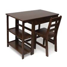 "Kid's 28"" W Writing Desk & Chair Set"