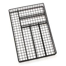 6 Compartment Flatware Tray
