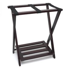 Right Height Luggage Rack with Shoe Shelf