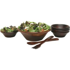 Cherry Salad Bowl 7 Piece Set