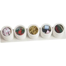 5 Piece See & Store Canister Set