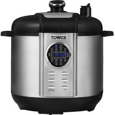 5L Stainless Steel Digital Pressure Cooker