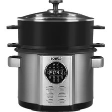 5L Stainless Steel Digital Multi Pasta Cooker