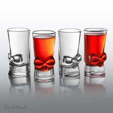 4 Piece Brainfreeze Shot Glass Set