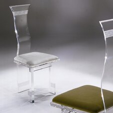 Symphony Lines Acrylic Side Chair (Set of 4)