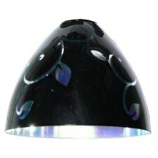 11 cm Lampenschirm Monique aus Glas