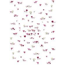 Lotsa Alphabet Art Random Birdies Paper Print