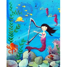 Wit & Whimsy Mermaid Canvas Art