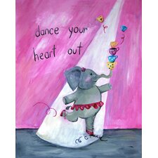 Words of Wisdom Dance Your Heart Out Paper Print