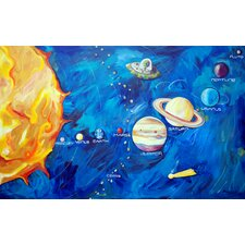Solar System Canvas Art
