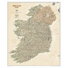 Ireland Executive Wall Map
