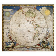Map of Discovery, Western Hemisphere