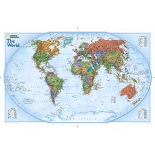 World Explorer Wall Map (Set of 2)