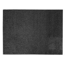 Soft Settings Black Shag Area Rug