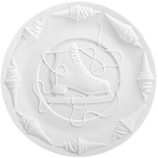 """Biscuit by Studio Job 10.63"""" Lace Undone Plate"""